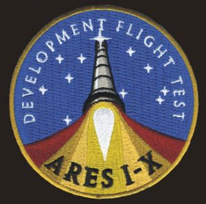 NASA ARES Development Flight Test 1-X Patch